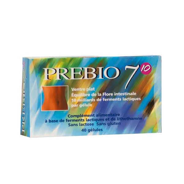 Exopharm Prebio 7 Probiotiques 40 gélules