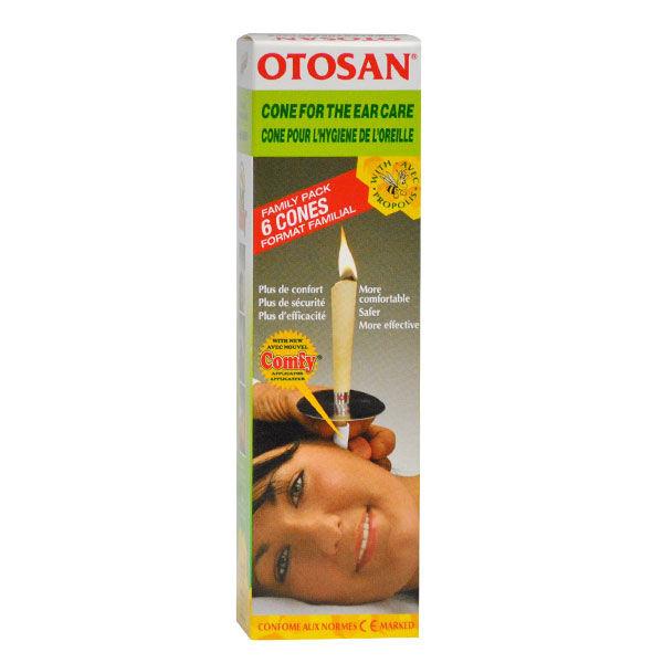Otosan Cônes pour l'Hygiène de l'Oreille 6 unités