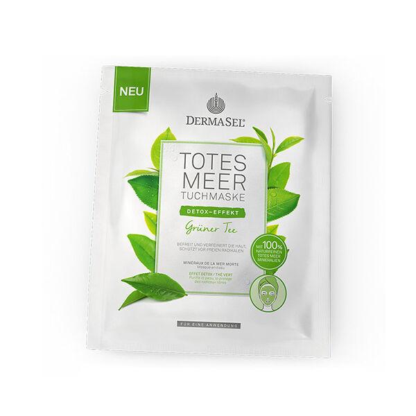 Dermasel Masque Tissu Effet Détox Thé Vert 1 unité
