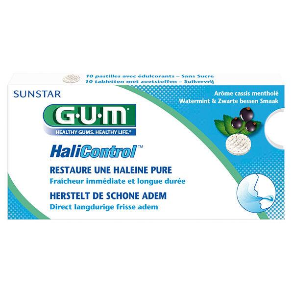 Gum HaliControl 10 pastilles sans sucre