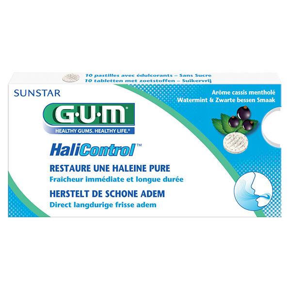 Gum Accessoires HaliControl 10 pastilles sans sucre