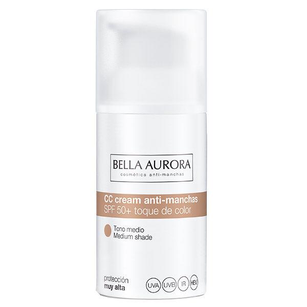 Bella Aurora CC Crème Anti-Tâches Ton Moyen SPF50+ 30ml