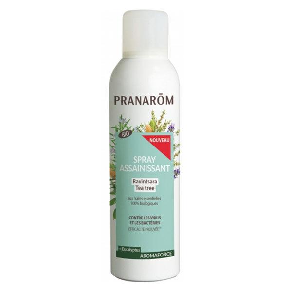 Pranarom Aromaforce Spray Assainissant Ravintsara Tea Tree Bio 400ml