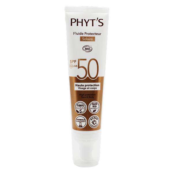 Phyts Phyt's Solaire Fluide Protecteur SPF50 100ml