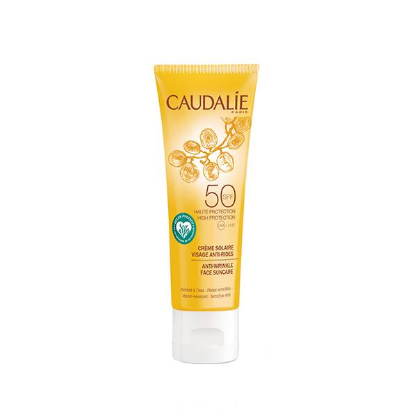 Caudalie Crème Solaire Anti-Rides Visage SPF50 50ml
