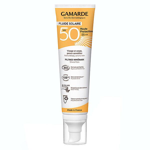 Gamarde Solaire Haute Protection SPF50 Bio 100ml