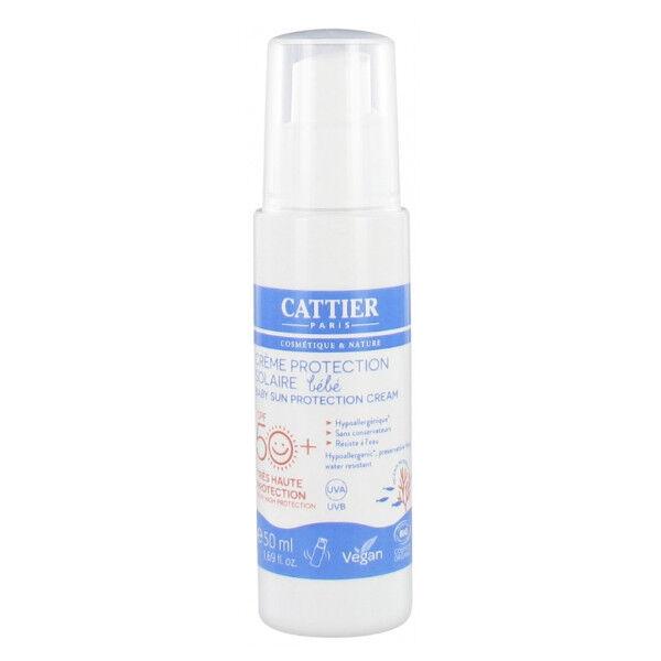 Cattier Solaire Crème Protection Bébé SPF50+ 50ml