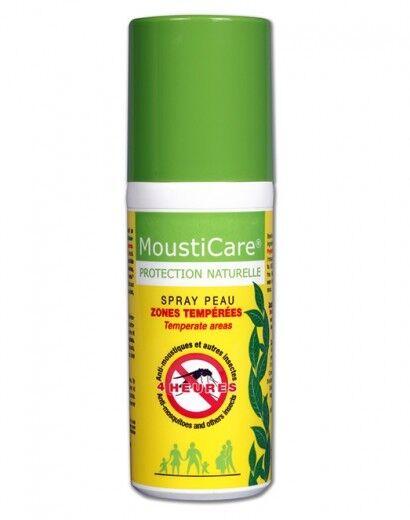 Mousticare Spray Zones Tempérées 50ml