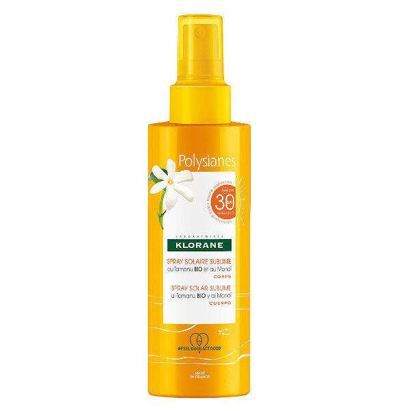 Klorane Solaire Spray Solaire Sublime SPF30 200ml