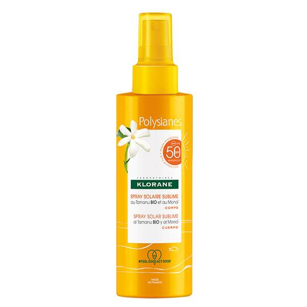 Klorane Solaire Spray Solaire Sublime SPF50 200ml