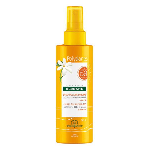 Klorane Solaire Spray Solaire Sublime SPF50 200ml