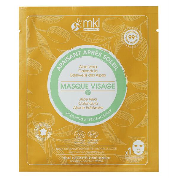 MKL Green Nature Masque Visage Apaisant Après Soleil Bio