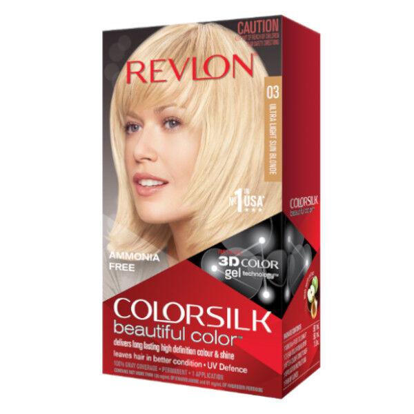 Revlon Colorsilk Coloration Permanente N°03 Blond Soleil Ultraclair