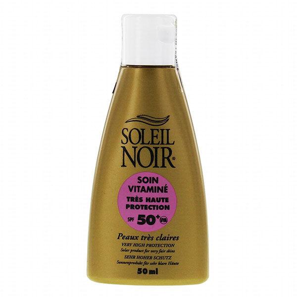 Soleil Noir Soin Vitaminé Très Haute Protection SPF50+ 50ml