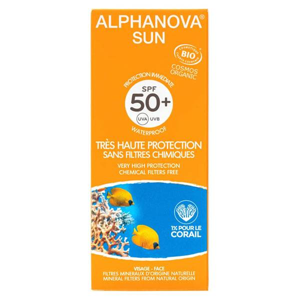 Alphanova Sun Bio Crème Solaire SPF50+ 50ml