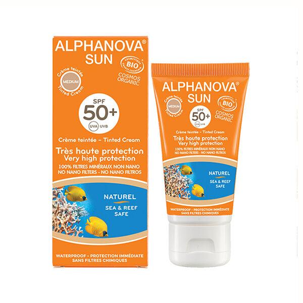 Alphanova Sun Bio Crème Teintée Médium SPF50+ 50ml