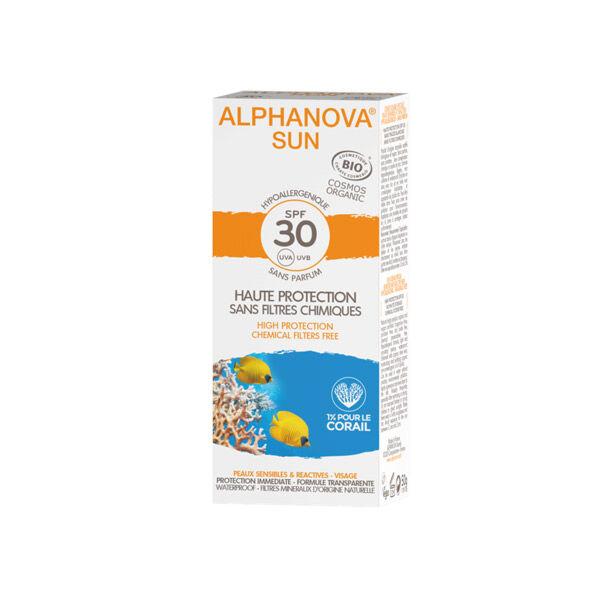 Alphanova Sun Crème Solaire Bio SPF30 50ml