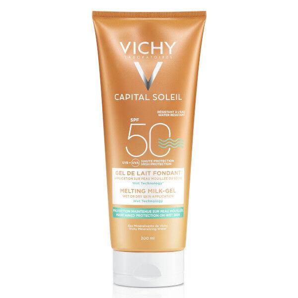 Vichy Capital Soleil Crème Solaire Gel de Lait Fondant SPF50 200ml