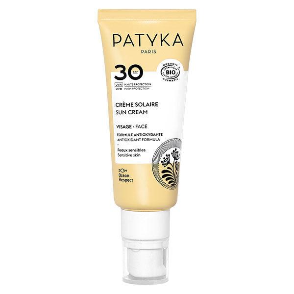 Patyka Cosmetics Patyka Solaire Crème Visage SPF30 Bio 40ml