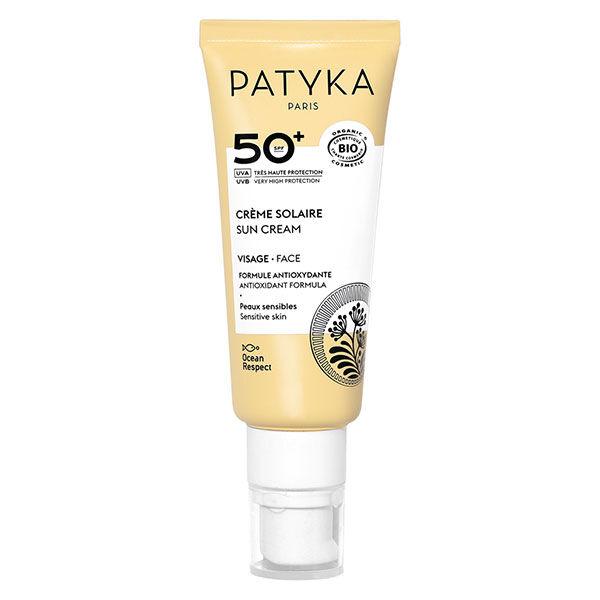 Patyka Cosmetics Patyka Solaire Crème Visage SPF50+ Bio 40ml