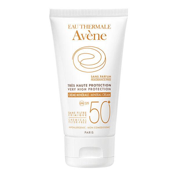 Avène Solaire Crème Minérale 50+ tube 50ml