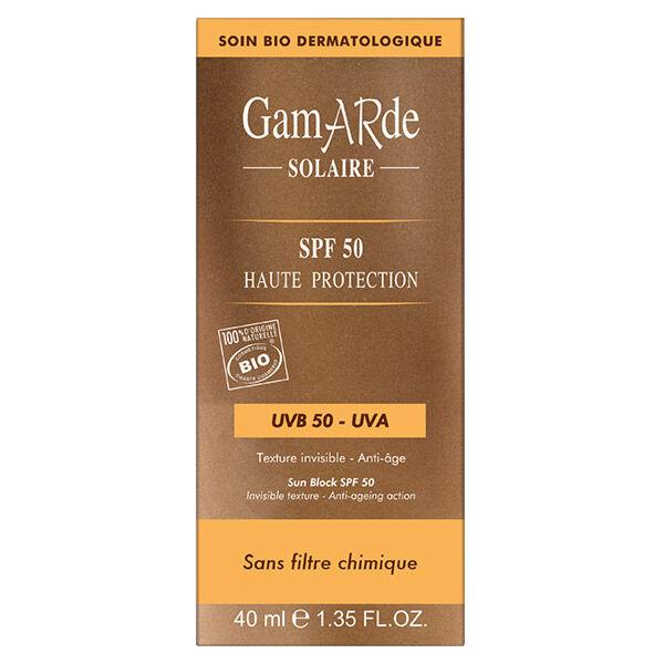 Gamarde Solaire Haute Protection SPF50 Bio 40ml