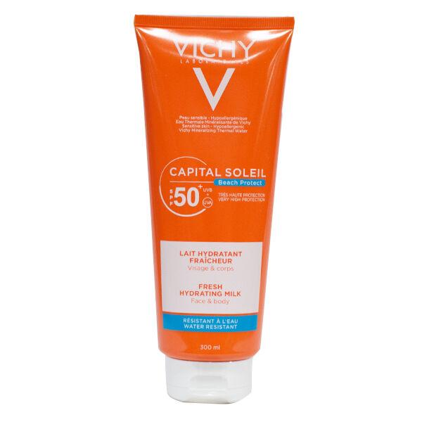 Vichy Capital Soleil Crème Solaire Lait Protecteur Fraicheur SPF50+ 300ml