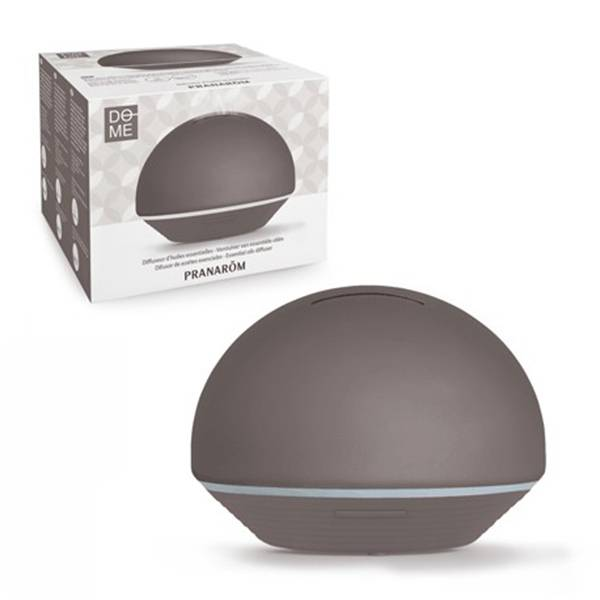0852395 Pranarom Diffuseur Ultrasonique Dome Taupe