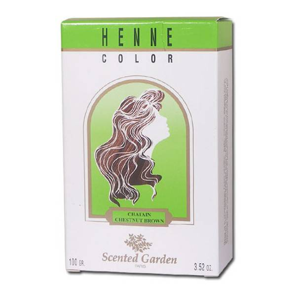 7025060 Henne Color Scented Garden Henne Chatain 100g