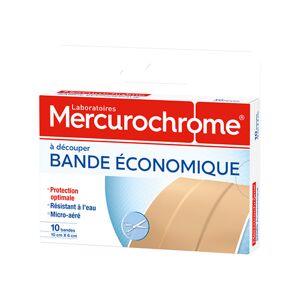 Mercurochrome Pansements Bande Economique boite de 10 - Publicité