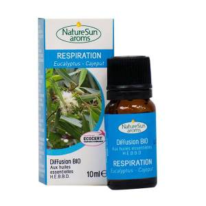 NatureSun Aroms Complexe Diffusion Bio Respiration 10ml - Publicité