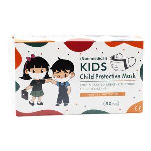 Lysse Matériel Médical Masque de Protection Enfant à Usage Unique 50 unités - Publicité