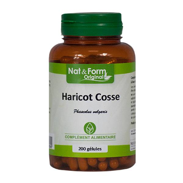 Nat & Form Original Haricot Cosse 200 gélules