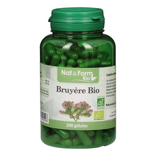 Nat & Form Bio Bruyère 200 gélules végétales
