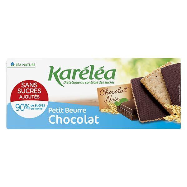 Karéléa Biscuits Sans Sucres Ajoutés Petit Beurre Chocolat 160g