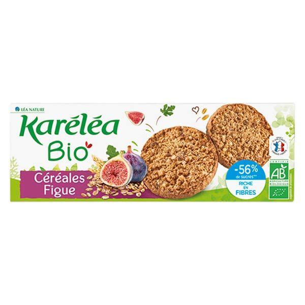 Karéléa Biscuits Sablés Céréales Figue Bio 150g