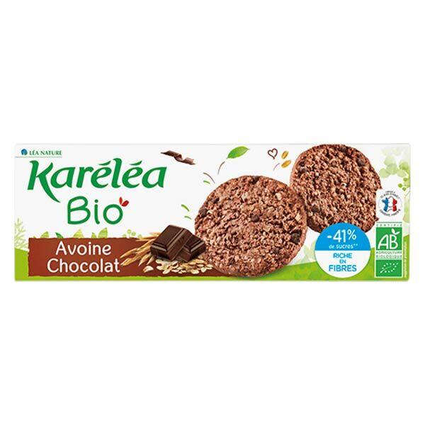 Karéléa Biscuits Sablés Avoine Chocolat Bio 150g