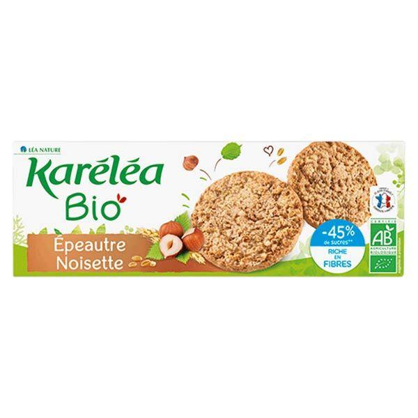 Karéléa Biscuits Sablés Epeautre Noisette Bio 150g