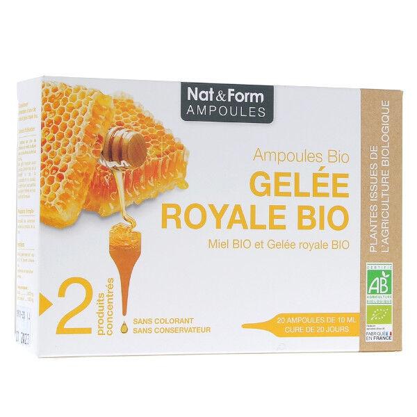 Nat & Form Gelée Royale Bio 20 ampoules