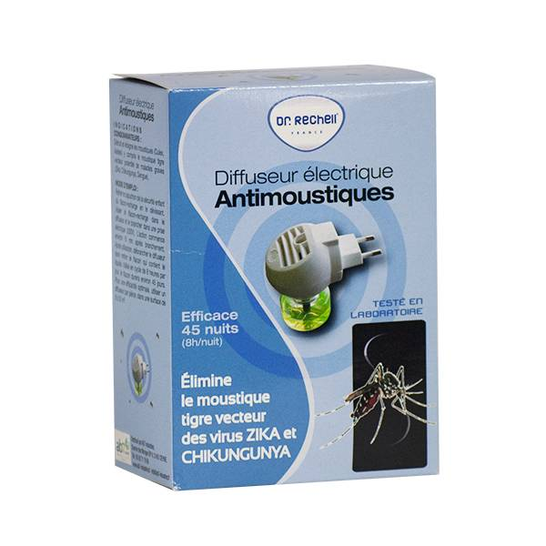 Dr Rechell Anti-Moustiques Diffuseur Electrique Zika 30ml