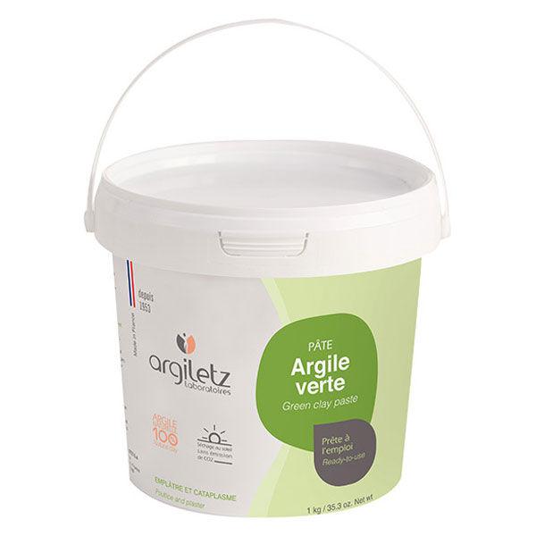 Argiletz Pâte d'Argile Verte Prête à l'Emploi 1kg