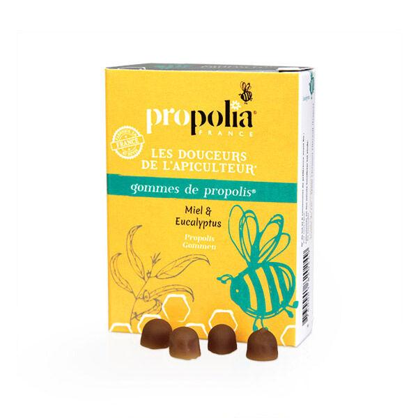 Propolia Les Douceurs de l'Apiculteur Gommes de Propolis Miel & Eucalyptus 45 unités