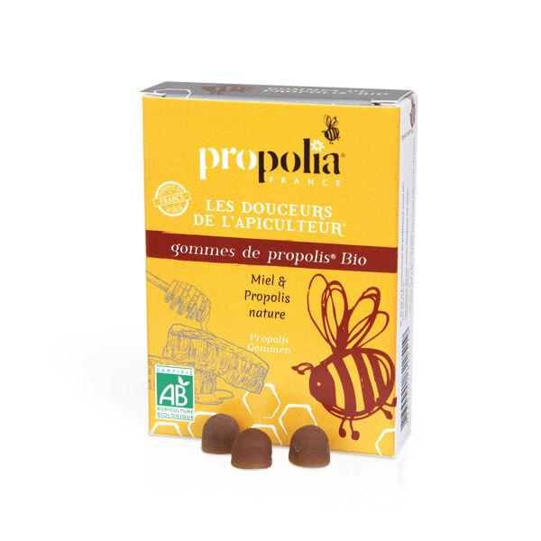Propolia Les Douceurs de l'Apiculteur Gommes de Propolis Miel & Propolis Nature 45 unités