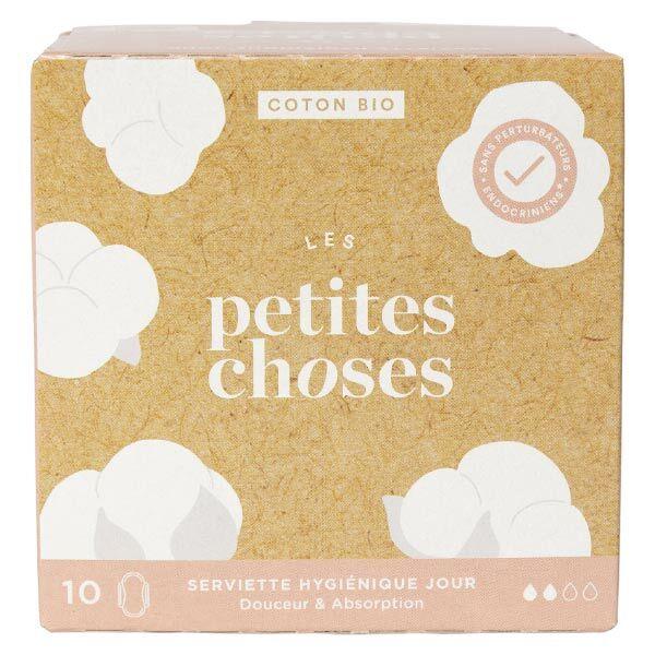 Les Petites Choses Serviettes Hygiéniques Jour Coton Bio 10 unités