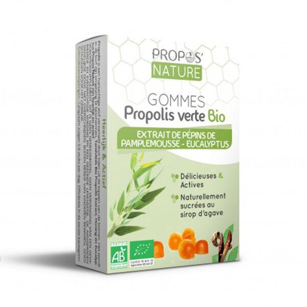 Propos'Nature Propos' Nature Apithérapie Gomme de Propolis Pépins de Pamplemousse Eucalyptus Bio 45g