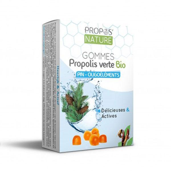 Propos'Nature Gomme de Propolis Bio Oligoéléments/Pin 45g
