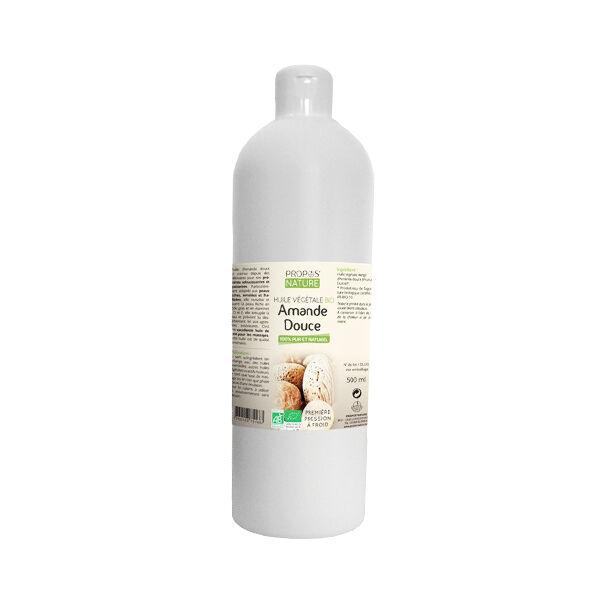 Propos'Nature Propos' Nature Aroma-Phytothérapie Huile Végétale Amande Douce Bio 500ml