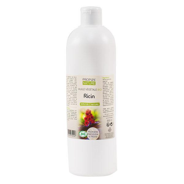 Propos 'Nature Huile Vegetale Bio Ricin 500ml