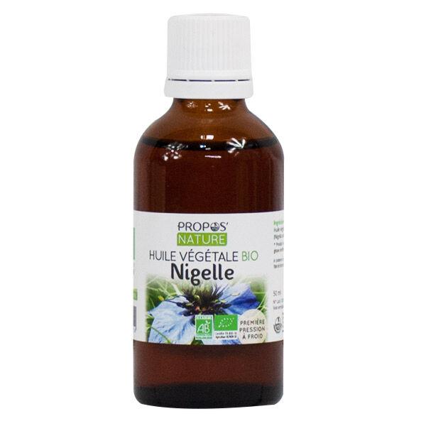 Propos'Nature Propos' Nature Aroma-Phytothérapie Huile Végétale Nigelle Bio 50ml