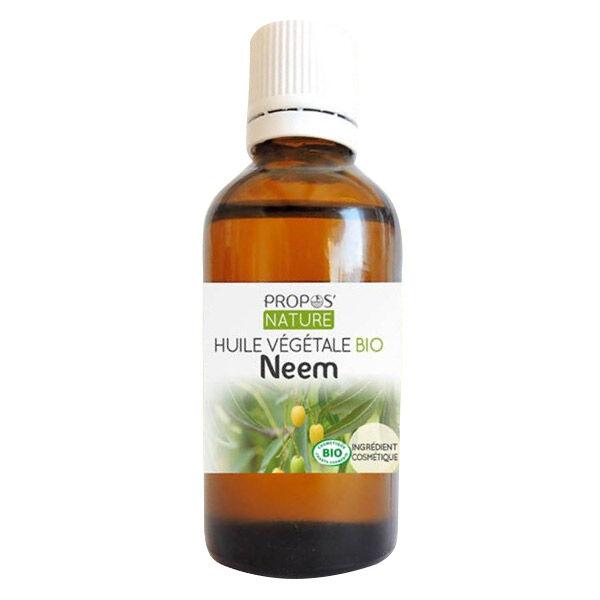 Propos'Nature Huile Végétale Neem Bio 50ml